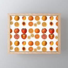 Fruit Attack Framed Mini Art Print
