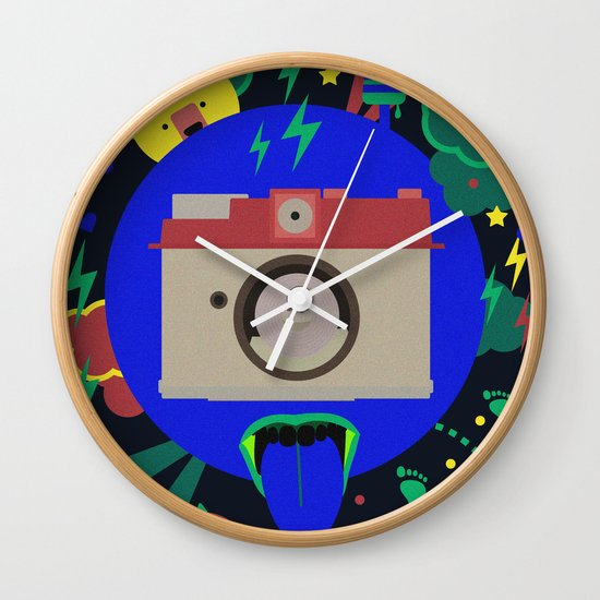 having too much fun to take pictures Wall Clock