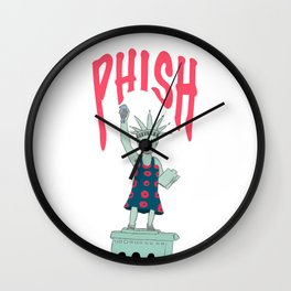 New Years Run Wall Clock
