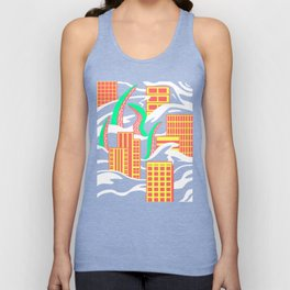 Flooded Unisex Tank Top