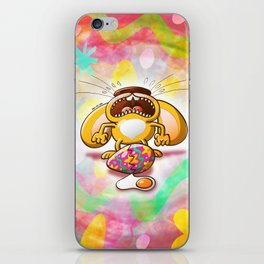 Desperate Easter Bunny iPhone Skin