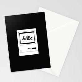Hello World Back Stationery Cards