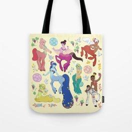 Centaurettes Tote Bag