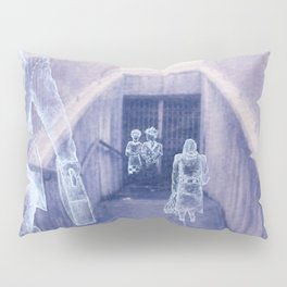 The city remembers; underground tunnel Pillow Sham