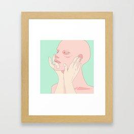 Solid 1 Framed Art Print