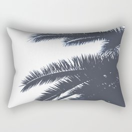 Palm Tree leaves abstract III Rectangular Pillow