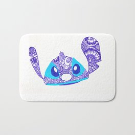54. Henna STITCH for Easter Funny Face Bath Mat