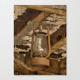 Hurricane lamp Canvas Print