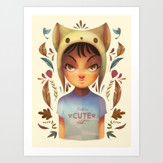 Sell her cute stuff Art Print