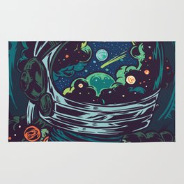 Center Of The Universe Rug