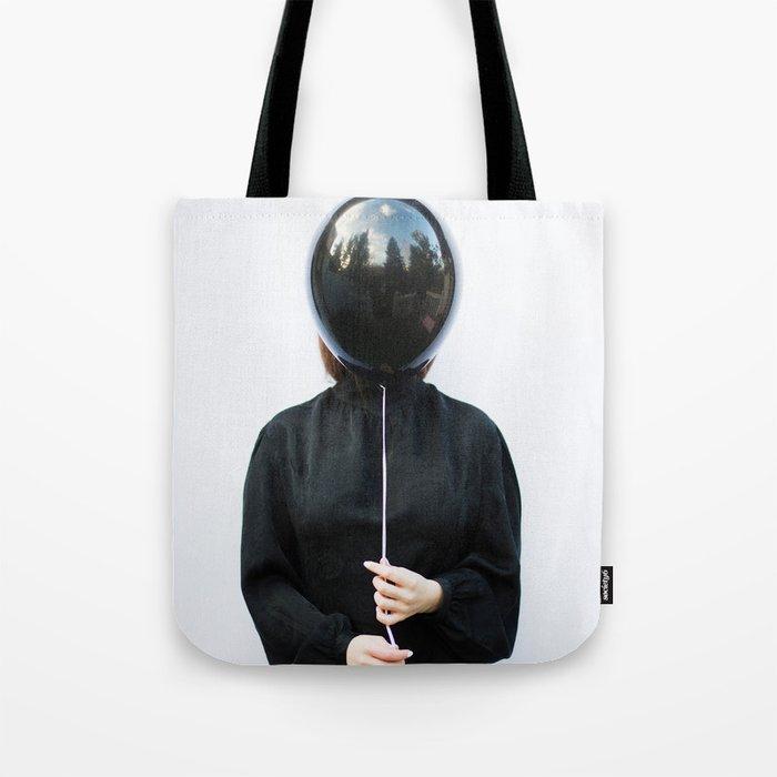 Behind the balloon Tote Bag