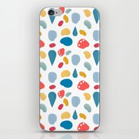 collage bits pattern iPhone & iPod Skin