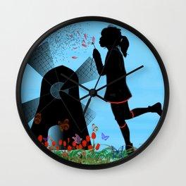 I love Holland Wall Clock