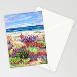 Winter Dunes, Barnegat Light, Long Beach Island, New Jersey Stationery Cards