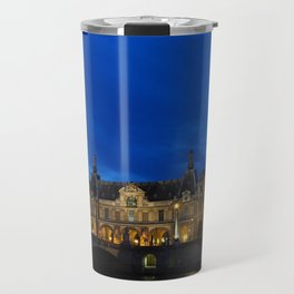 Louvre At Night 1 Travel Mug