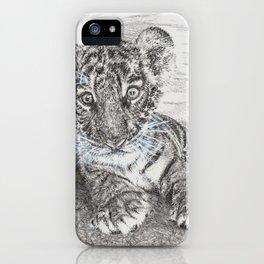 Fluke - Baby Tiger Cub iPhone Case