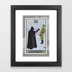 Judgement - Tarot Card Framed Art Print