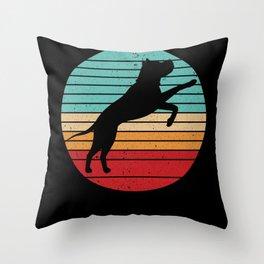 Dog pet gift idea Throw Pillow