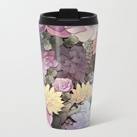 Pastel Nature Metal Travel Mug