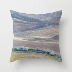 Palouse Abstract II Throw Pillow