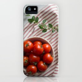 Summer Tomatoes iPhone Case