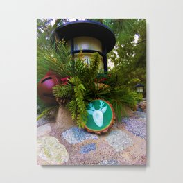 Christmastime Decor 2 Metal Print
