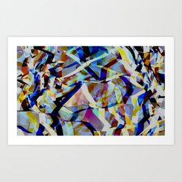 Abstract composition 309 Art Print