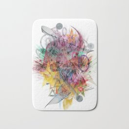 Colors of the wind by Nico Bielow Bath Mat
