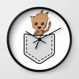Pepe Frog Pocket Wall Clock