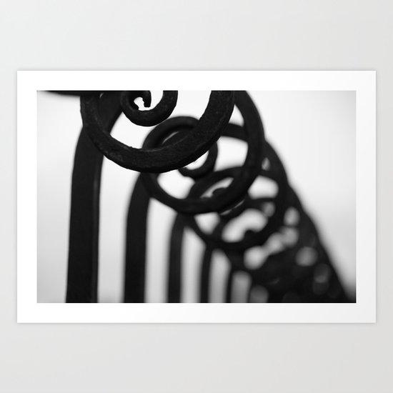 Gorgeous Gate Art Print