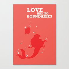 Love Has No Boundaries Canvas Print