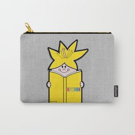 Reading Rainbow in Harmony - Yellow Carry-All Pouch