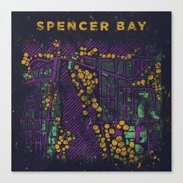 Spencer Bay • Shapes & Colors Canvas Print