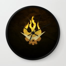 Gurren Lagann Movie Poster Wall Clock