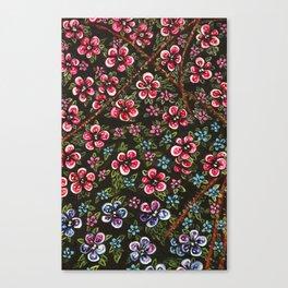 L'amour fait rougir Canvas Print