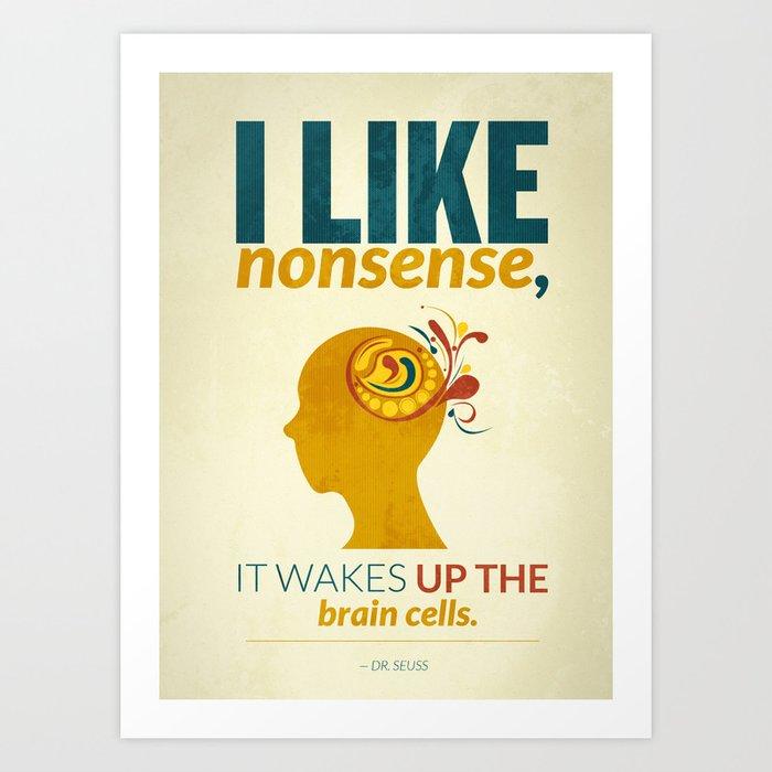 Dr. Seuss Art Print