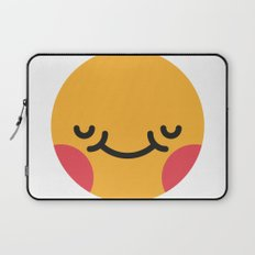 Emojis: Blush Laptop Sleeve