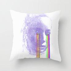 Lacryma Color 4 Throw Pillow