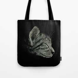 Sleep Through the Day (Cat) Tote Bag