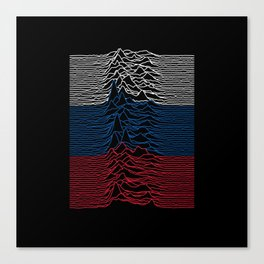 Joy Division - Unknown Russian Pleasures Canvas Print