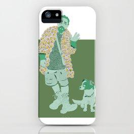 Takashi Murakami by UVTM_Designs iPhone Case