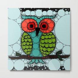 Curiosity Never Killed an Owl Metal Print