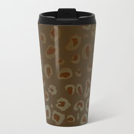 Bronzed Leopard Travel Mug