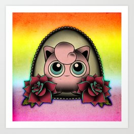 Jigglypuff Art Print