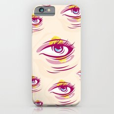 eyes contact iPhone 6 Slim Case