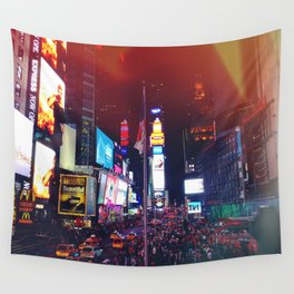 Times Square Lights Wall Tapestry
