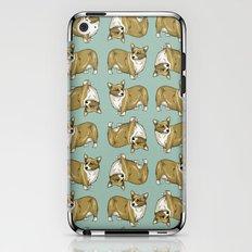 Welsh Corgi dog pattern iPhone & iPod Skin