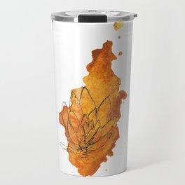 Cactus watercolor Travel Mug