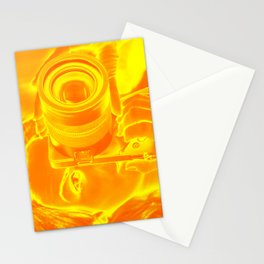abstract woman photographer Stationery Cards