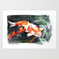 Koi carp 2 Art Print